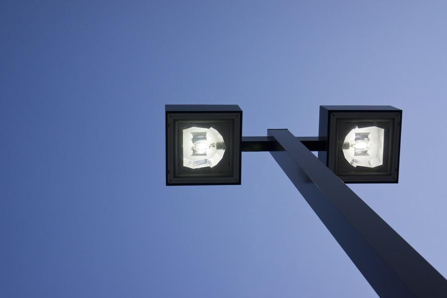 Na Osiedlu Młodego Górnika zainstalowano oświetlenie z budżetu partycypacyjnego