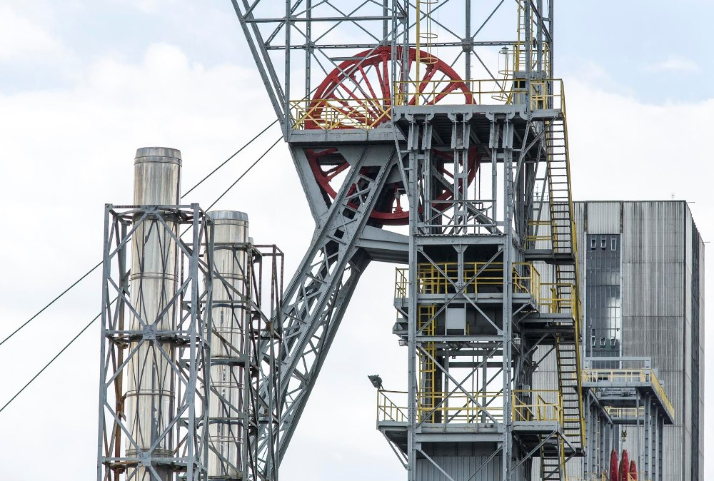 Napięta sytuacja w KWK Makoszowy - górnicy walczą o swoje miejsca pracy