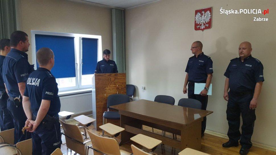 Nowy komendant komisariatu V w Zabrzu