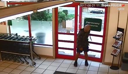 Mężczyzna podejrzany o kradzież roweru - czy rozpoznajesz?