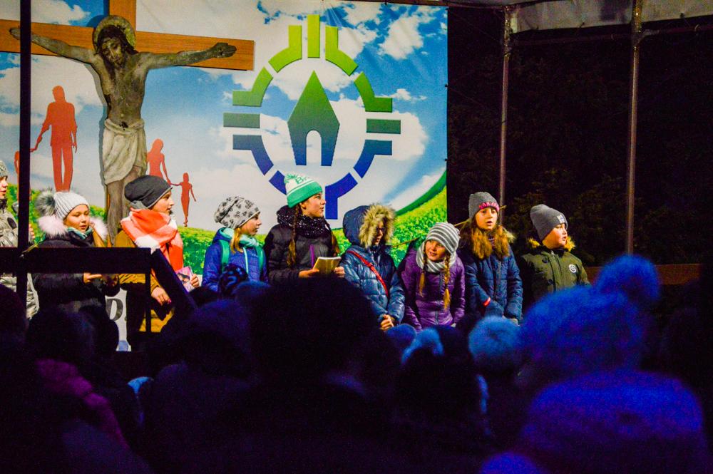 Tłum na Dniu Św. Marcina
