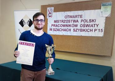 Nauczyciel z Zabrza - Mistrzem Polski w szachach szybkich!