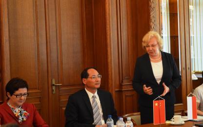 Delegacja z chińskiego Liyang odwiedziła Zabrze