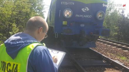 Śmiertelny wypadek na szlaku kolejowym