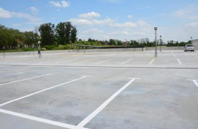 Rozbudowywany Platan ma już parking na ponad 500 samochodów