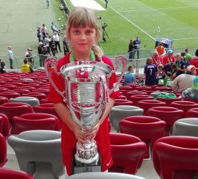 Zabrzanka Wicemistrzem Polski w Turnieju U-10 Dziewcząt