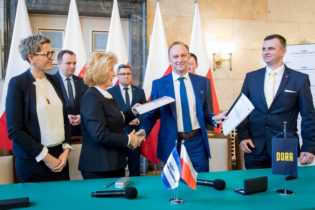 256 mln na modernizację kolei w województwie śląskim. Podpisano umowę!