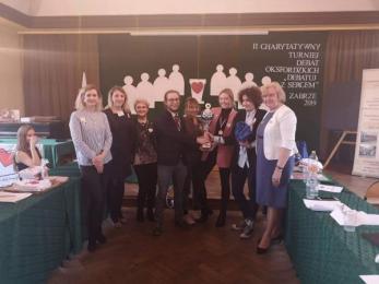 II Charytatywny Turniej Debat Oksfordzkich w Zabrzu