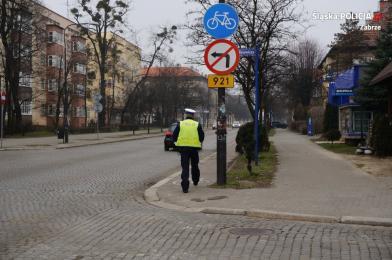 Policjanci sprawdzali zabrzańskie drogi rowerowe