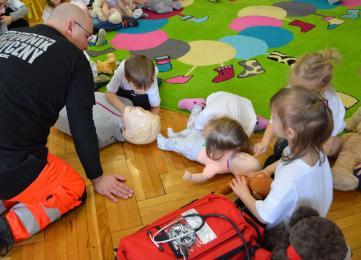 Co robili funkcjonariusze z Zakładu Karnego w Zabrzu w przedszkolu?