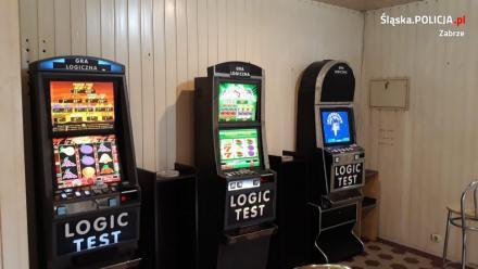 Policjanci z Zabrza przejęli 3 nielegalne automaty do gier