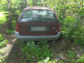 Policjanci z Zabrza odzyskali skradzionego forda mondeo