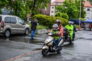 Śmierciodoporni znów w trasie - Rajd motocyklowy na ulicach Zabrza [ZDJĘCIA]