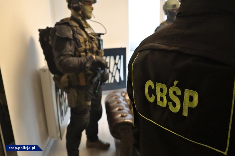 Zabrze: Obława CBŚP i Policji na pseudokibiców. Zatrzymano m.in. lidera grupy przestępczej