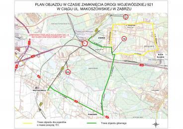 Zabrze: Utrudnienia w ruchu - zamknięcie przejazdu kolejowego na ulicy Makoszowskiej