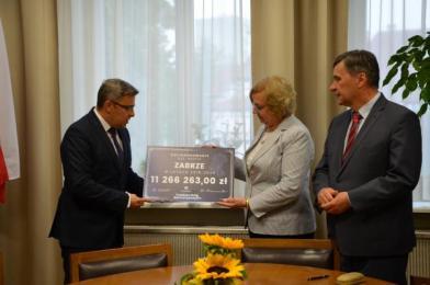 Ponad 11 mln zł dofinansowania na budowę ronda w Zabrzu