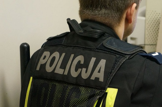 39-latek zatrzymany za kradzież rozbójniczą
