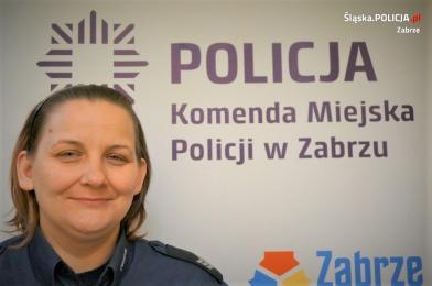 Dzielnicowa z Zabrza po służbie zatrzymała poszukiwanego