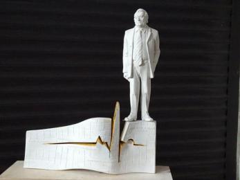 Zabrze: Trwają prace nad pomnikiem upamiętniającym prof. Zbigniewa Religę