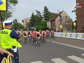 Policjanci z zabrzańskiej komendy zabezpieczali II etap 77. edycji Tour de Pologne
