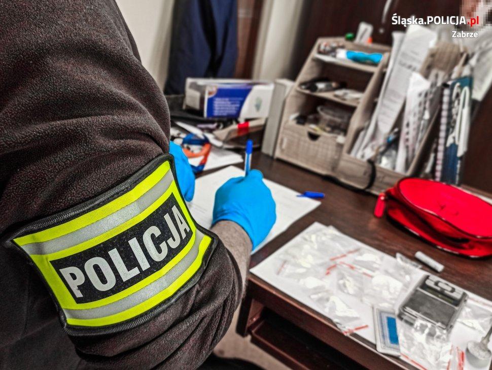 Z narkotykami i pod ich wpływem zatrzymała go policja