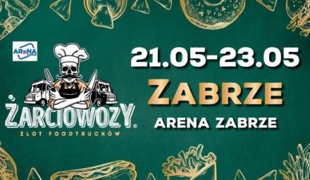 Żarciowozy przyjadą do Zabrza na weekend