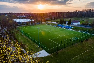 Młodzi piłkarze z GKS Walka będą mieli nową murawę