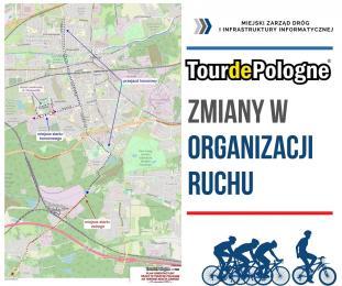 78. Tour de Pologne - mieszkańców czeka zmiana organizacji ruchu