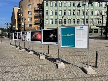 """Wystawa """"Górska Odyseja"""" na Placu Wolności w Zabrzu"""