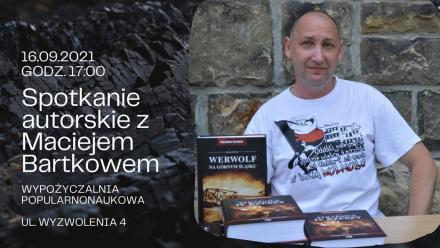 Spotkanie z Maciejem Bartków w zabrzańskiej bibliotece