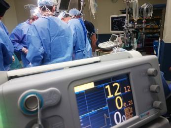 Zabrzańscy lekarze brali udział w pierwszy udanym przeszczepie płuc na Ukrainie