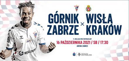 Górnik Zabrze podejmie Wisłę Kraków