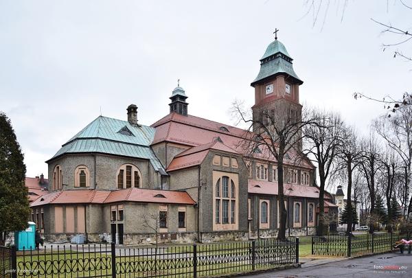 Rokitnica - Kościół pw. Najświętszego Serca Pana Jezusa