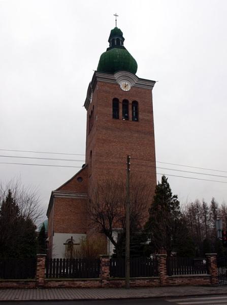 Pawłów - Kościół pw. św. Pawła Apostoła
